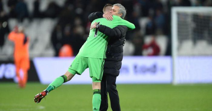 Jose Mourinho David de Gea Man Utd