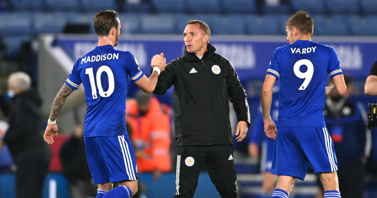 Rodgers: Leicester facing 'Catch-22' over Maddison selection thumbnail
