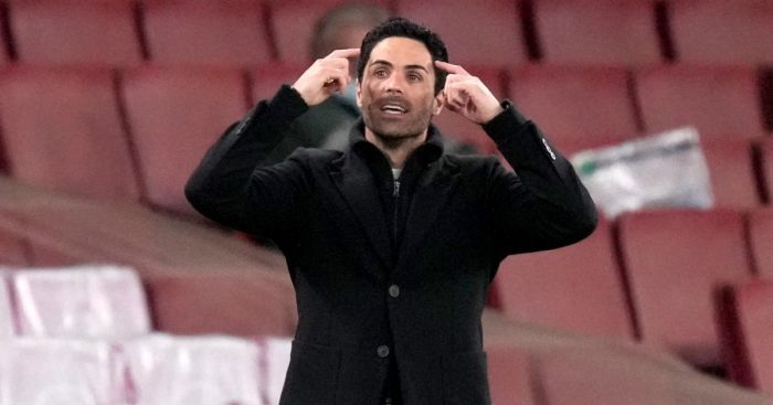 Mikel Arteta issues tactical instructions