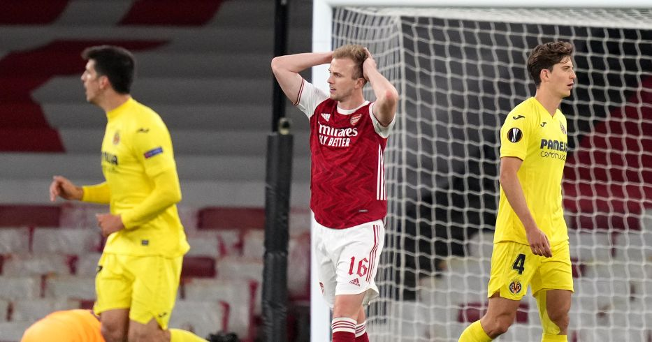 Rob Holding reacts