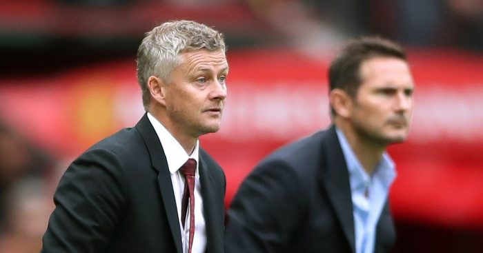 Ole Gunnar Solskjaer and Frank Lampard