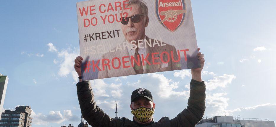 Arsenal fan Stan Kroenke
