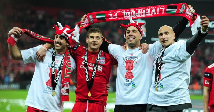 Jose Enrique Liverpool Steven Gerrard