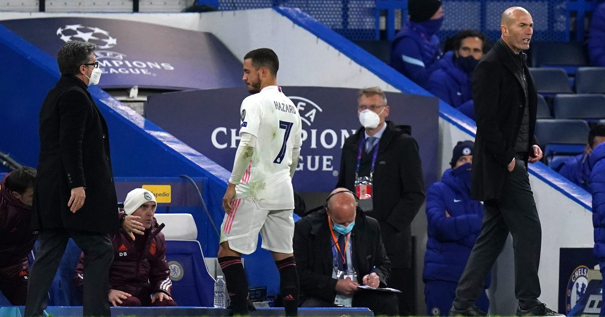 Real Madrid 'reach limit' with Hazard - will 'listen to any offer' for him - Football365