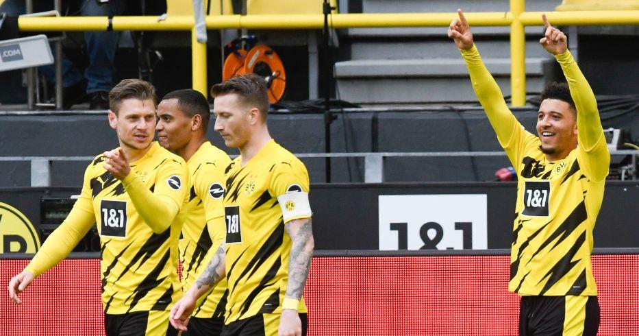 Borussia Dortmund celebrate