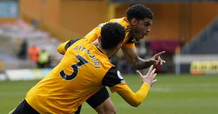 Wolves' Morgan Gibbs-White and Rayan Ait-Nouri
