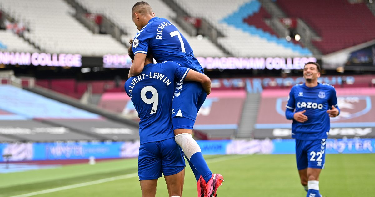 West Ham 0-1 Everton: Calvert-Lewin dents Hammers top-four hopes
