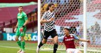 Edinson Cavani Manchester United Aston Villa