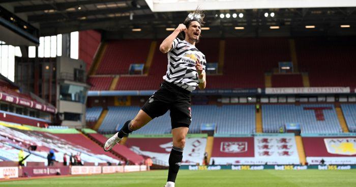 Edinson Cavani contract Man Utd F365