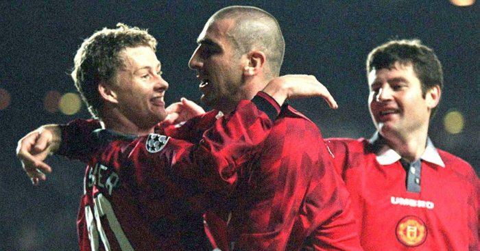 Eric Cantona Ole Gunnar Solskjaer Man Utd