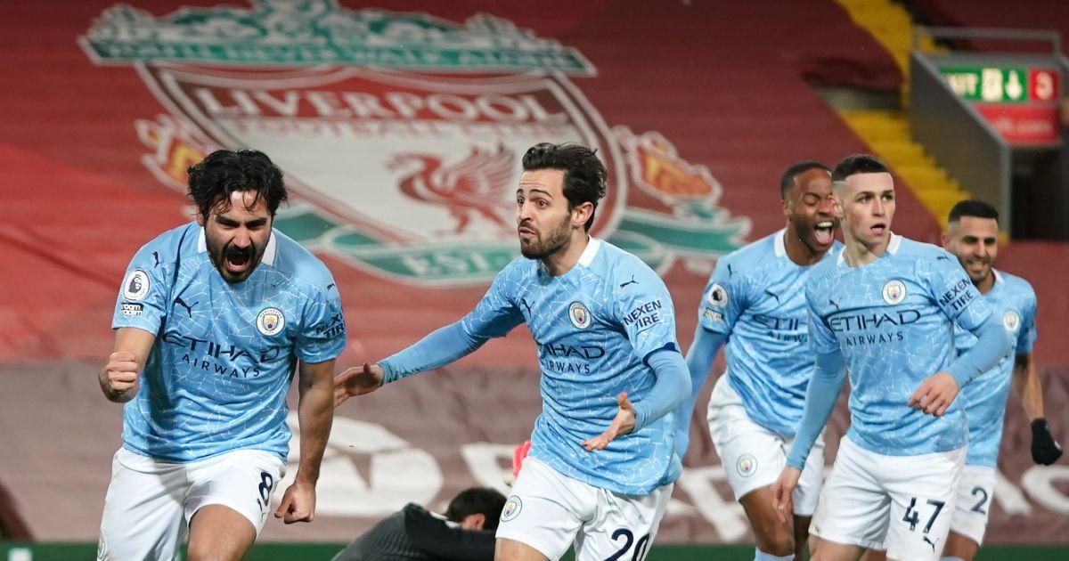 Ilkay Gundogan goal Manchester City Liverpool