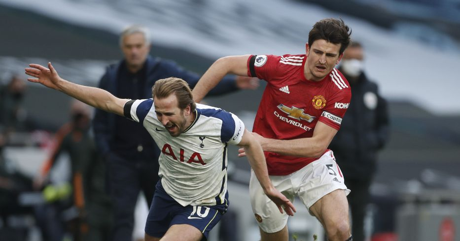 Harry Kane and Harry Maguire