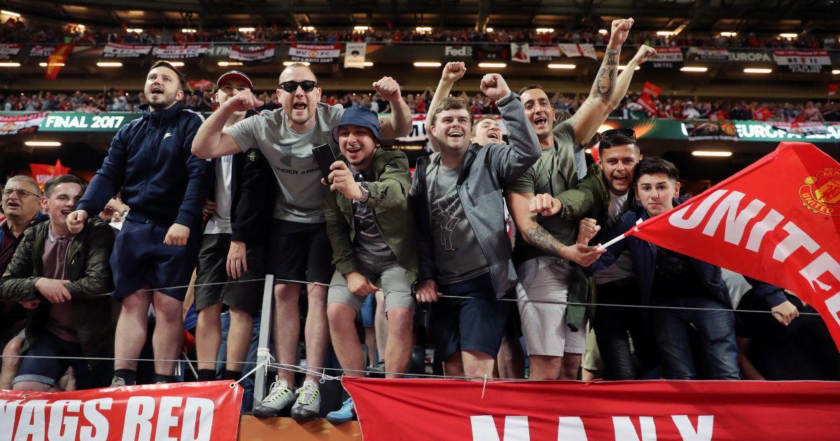 Man Utd fans Europa League final
