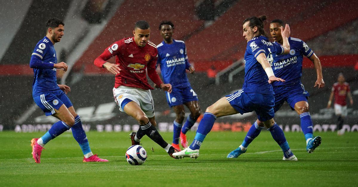Mason Greenwood Man Utd Leicester City