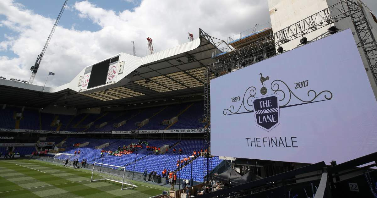 Tottenham White Hart Lane Final Game 2017