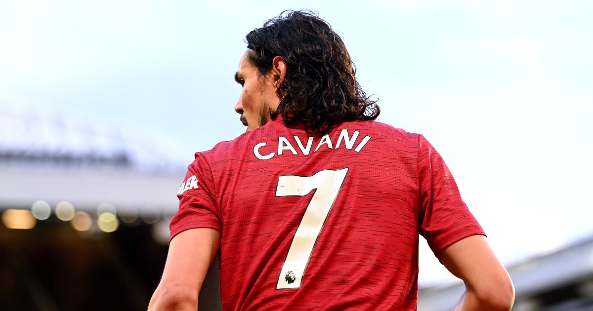 Edinson Cavani Man Utd