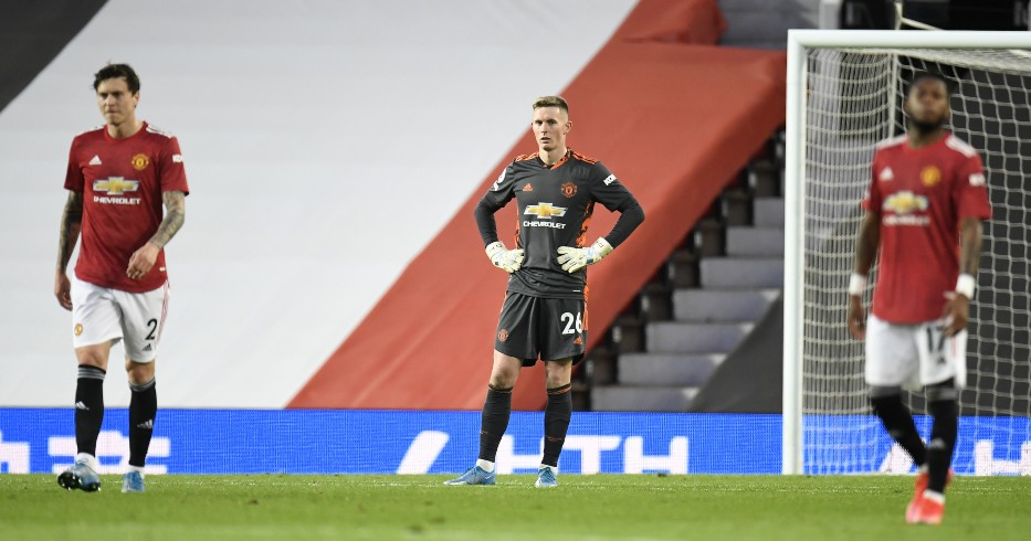 Victor Lindelof, Dean Henderson and Fred