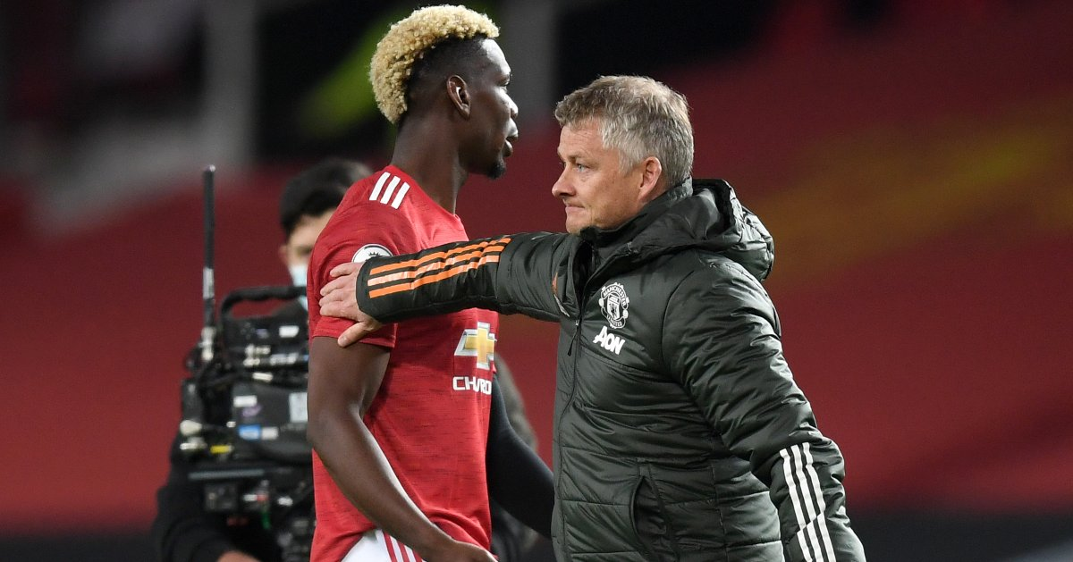 Pogba 'furious' at Solskjaer; snubbed Man Utd boss in a dressing room apology