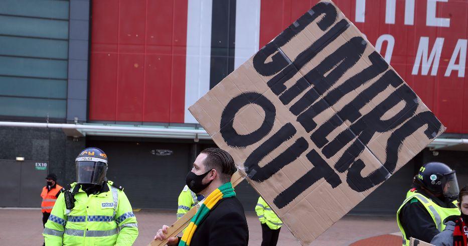 Man Utd fans Glazers
