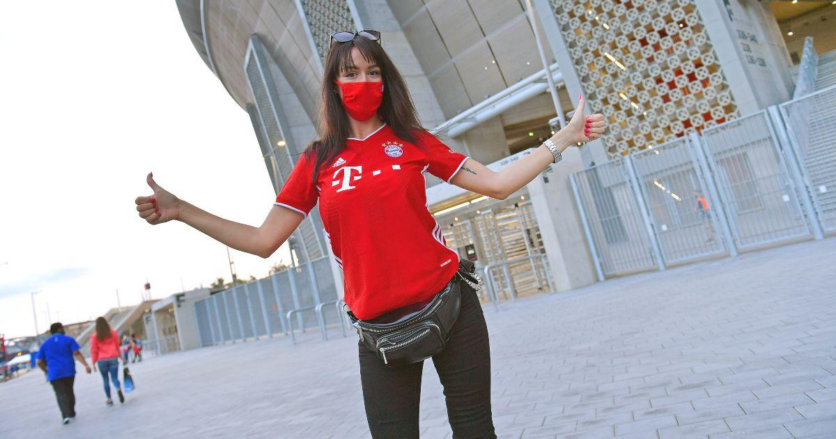 Bayern Munich fan football