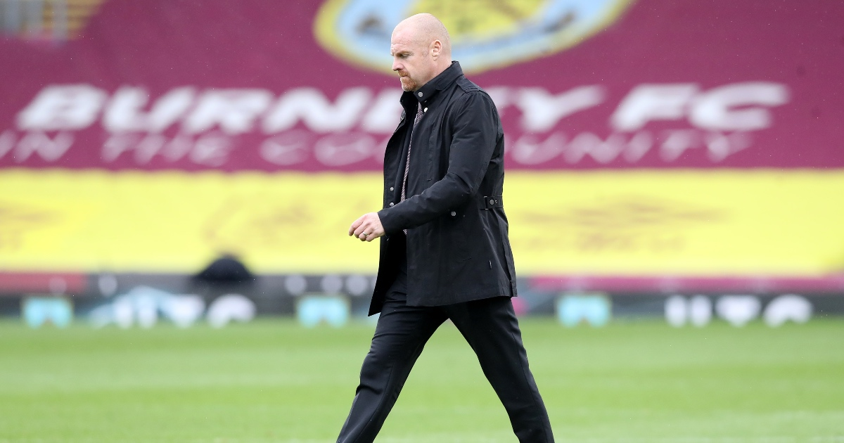 Dyche: Burnley lacked 'clinical finishing' in Leeds defeat