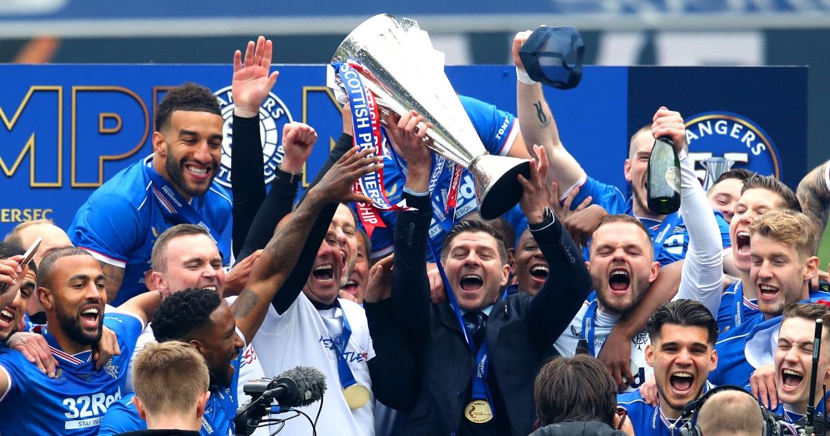 Gerrard's Rangers complete Invincible season with Aberdeen win