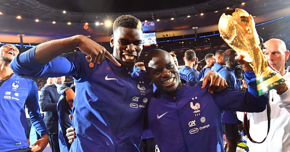 """Pogba offers surprise opinion on """"cunning"""" Kante - Football365"""