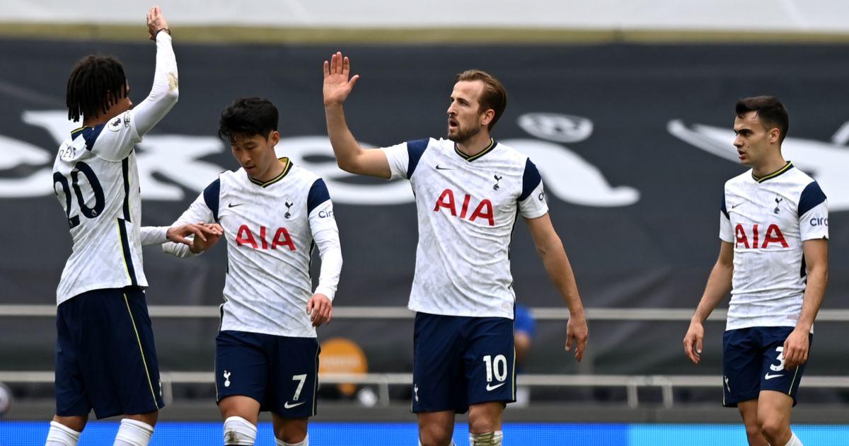 Harry Kane Tottenham celebrates