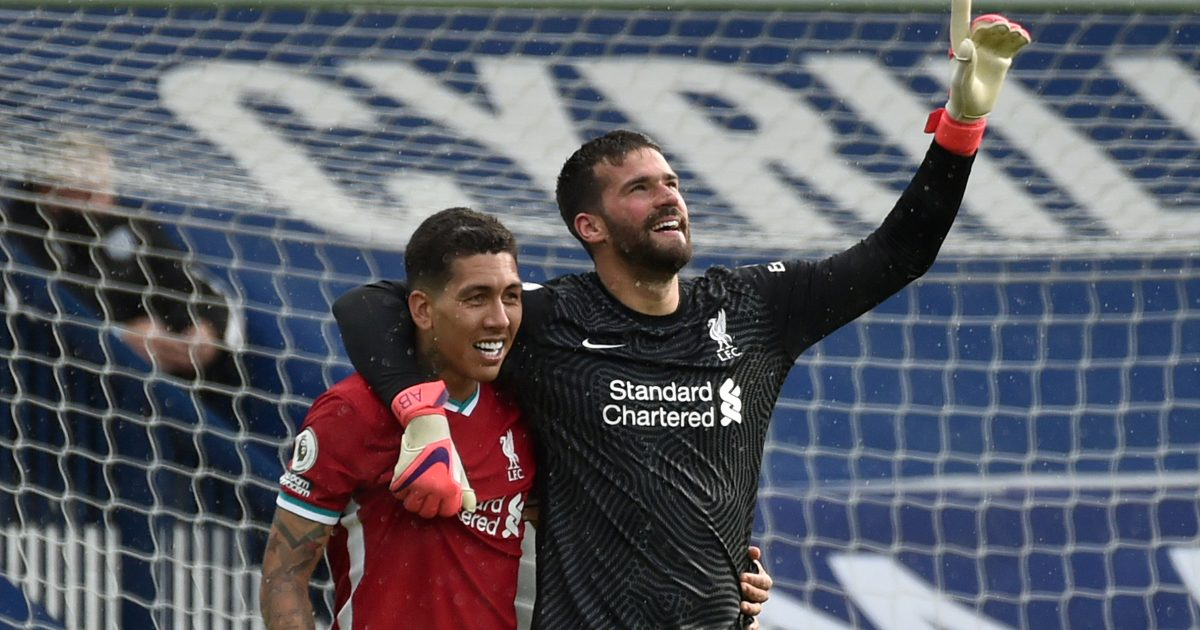 West Brom 1-2 Liverpool: Alisson heads in last gasp winner - Football365