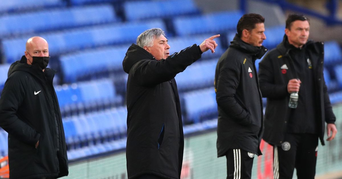 Ancelotti embarrassed by latest Goodison setback