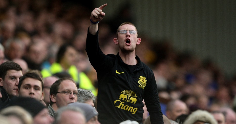 An Everton fan