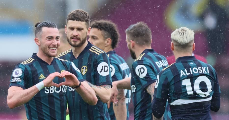 Los jugadores de Leeds celebran