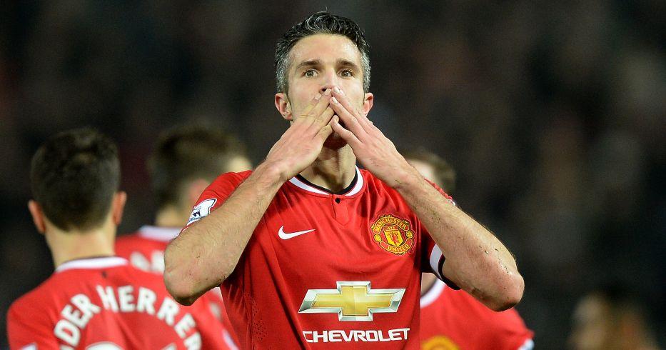 Robin van Persie Man Utd Kane