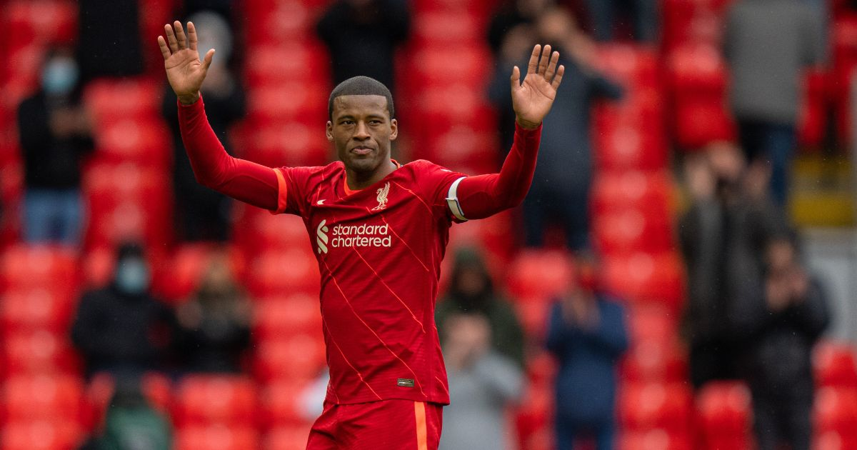 Wijnaldum 'didn't feel loved and appreciated' at Liverpool
