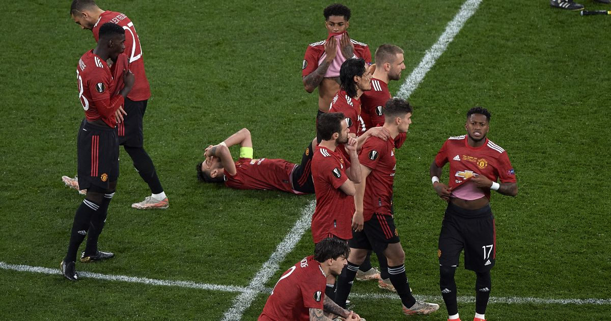 Manchester United players Europa League final