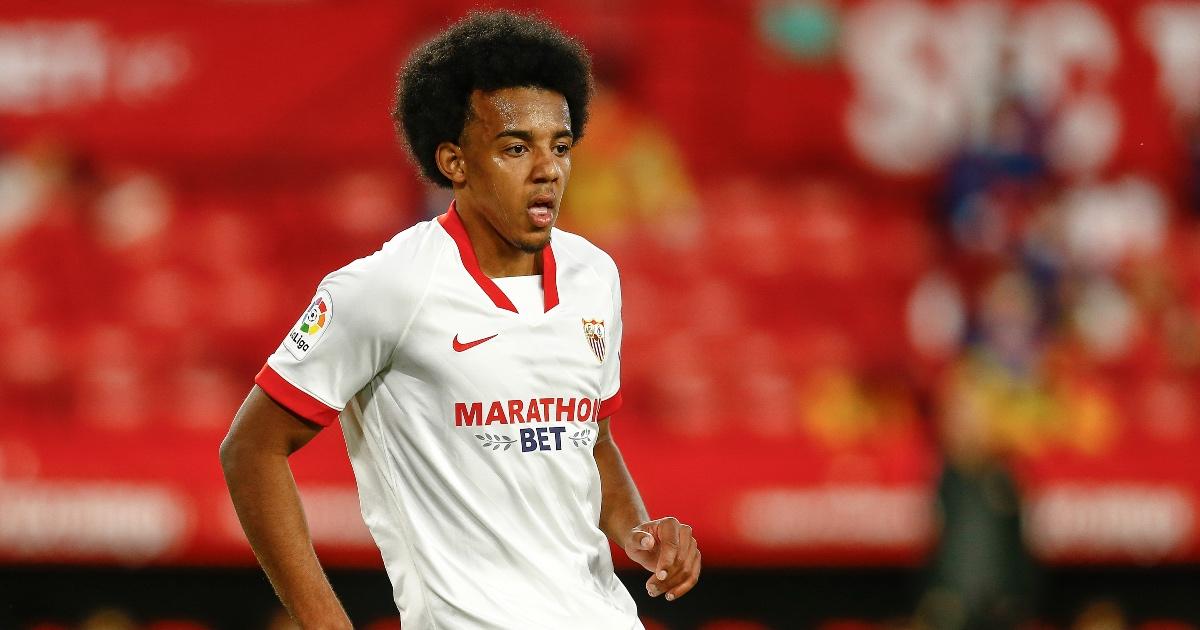 Jules Kounde Man Utd Sevilla F365