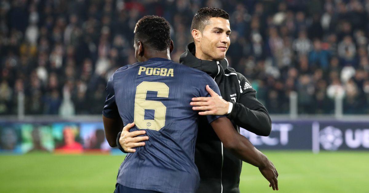 Paul Pogba Cristiano Ronaldo Man Utd Juventus