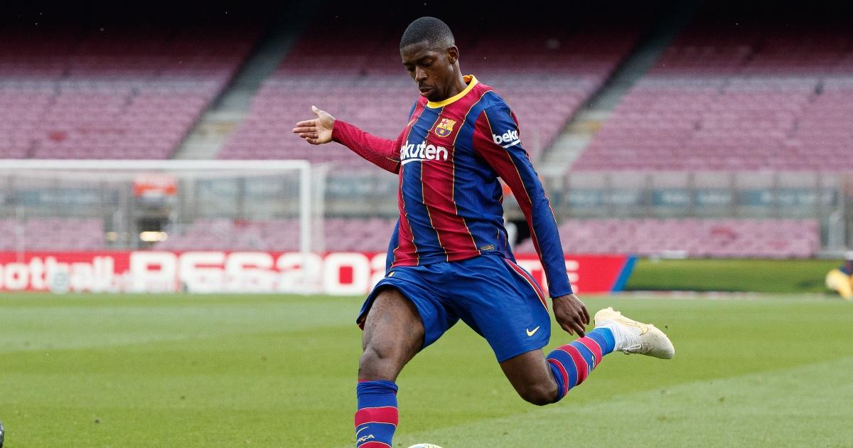 Ousmane Dembele Liverpool F365