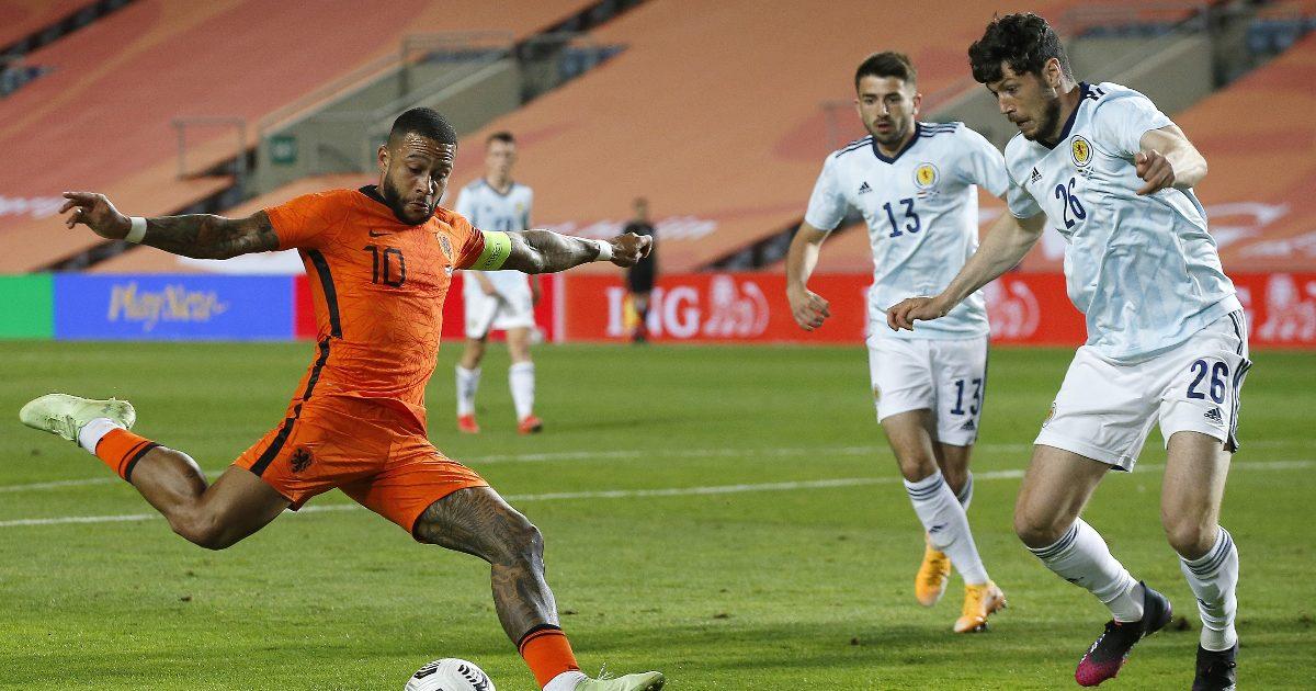 Netherlands 2-2 Scotland: Depay equalises late-on thumbnail