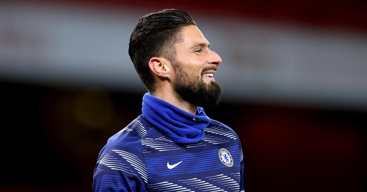 Olivier Giroud Milan Chelsea F365