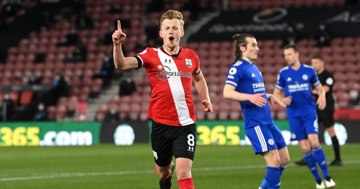 James Ward-Prowse Southampton Aston Villa