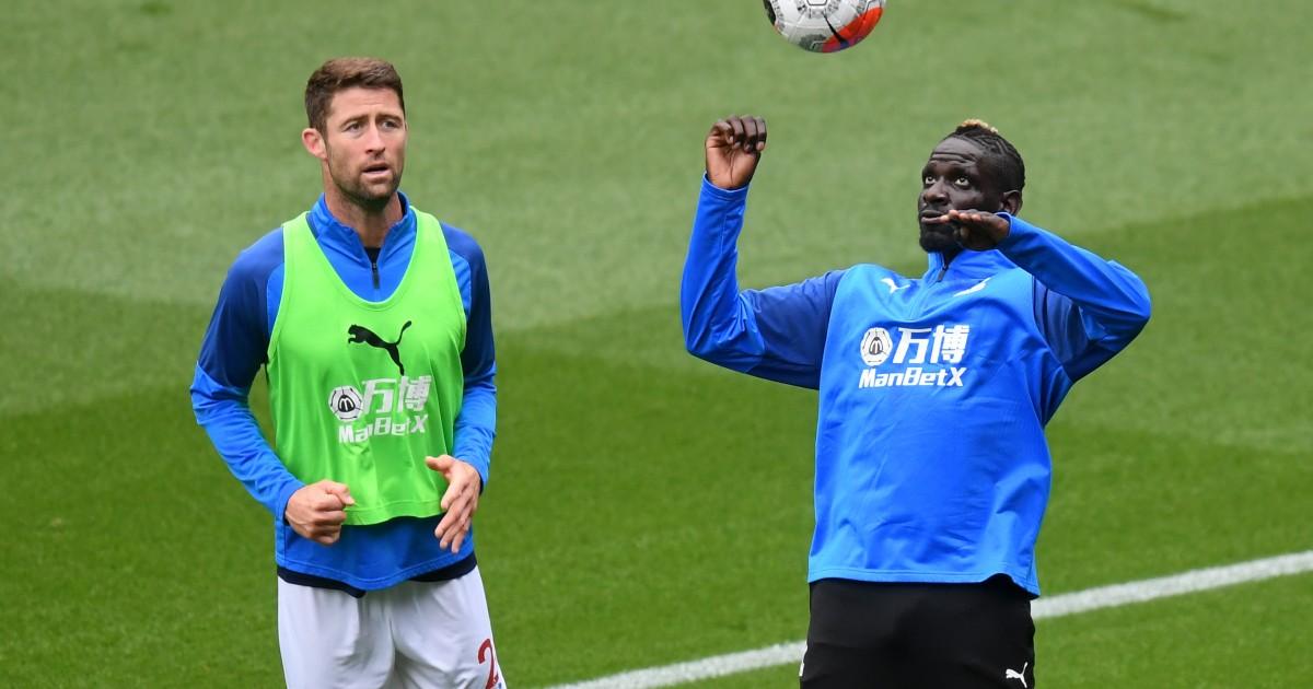 Gary Cahill and Mamadou Sakho