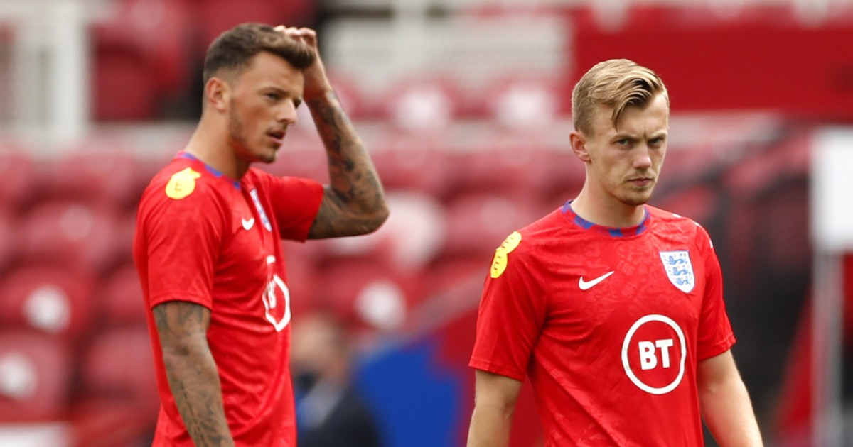 Ben White and James Ward-Prowse