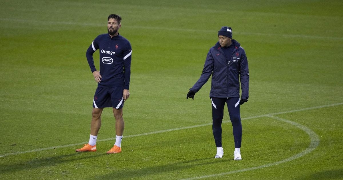 Giroud Mbappe France