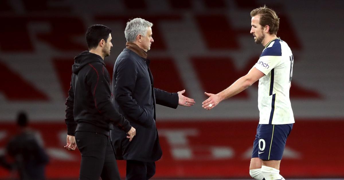 Jose Mourinho Harry Kane Spurs