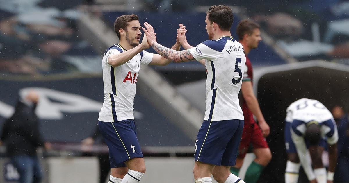 Harry Winks Spurs Man Utd F365