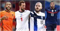 Euro 2020 home kits