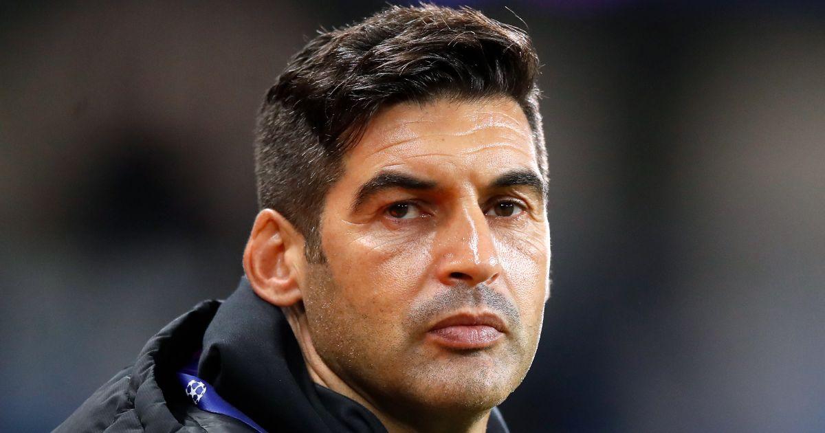 Paulo Fonseca Roma Spurs
