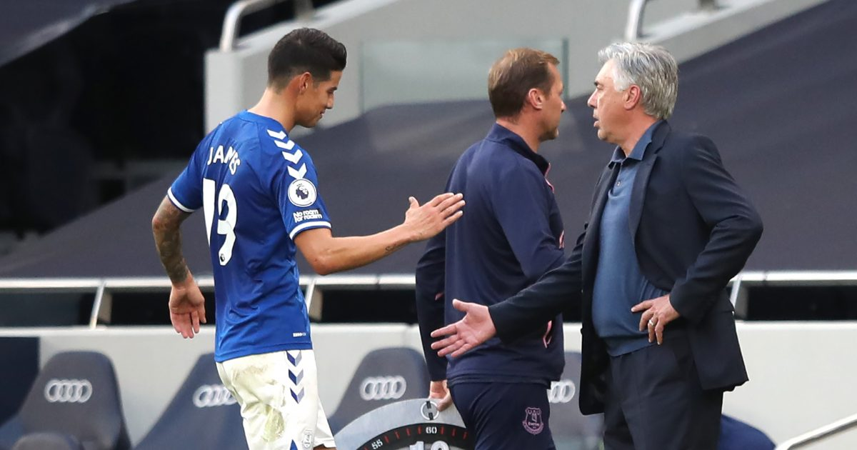 Everton star shuts down exit talk as his 'cycle' with Real is 'closed' - Football365