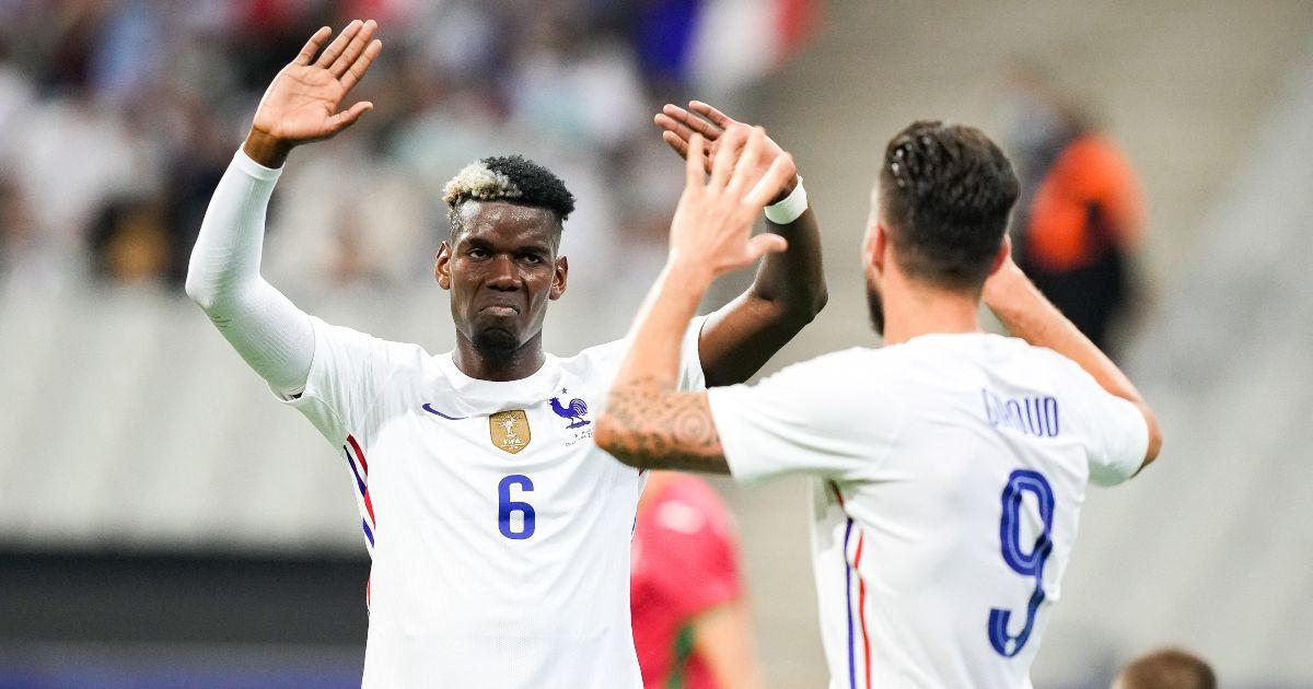 Pogba: France allow me more 'freedom' than Man Utd - Football365